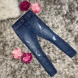 Express Legging Distressed Jeans Women size 10